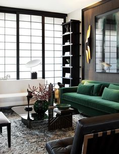 designer crush: John Jacob Interiors color sillon y paleta de colores