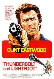 "firstclassmovies: ""THUNDERBOLT AND LIGHTFOOT Clint Eastwood is the veteran bank robber and Jeff Bridges is the irreverent sidekick in Michael Cimino's unusual heist film. Best Movie Posters, Cinema Posters, Movie Poster Art, Film Posters, Scott Eastwood, Michael Cimino, Thunderbolt And Lightfoot, Eastwood Movies, Vintage Films"