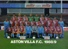 Probably the first Villa team to believe in after the European Cup winners. Aston Villa Kit, Classic Football Shirts, European Cup, Best Club, My Church, West Midlands, Fa Cup, Blood