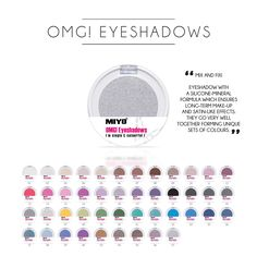 OMG! MONO EYESHADOW  Confidence for many hours! Owing to its satin-smooth consistency and the nude colour, it will perfectly smooth out the eyelid colour, creating a canvas for an unbelievable piece of art. It will set off the eyeshadow pigment and improve the wear time.