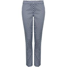 NYDJ Corynna Skinny Ankle Trousers, Blue ($84) ❤ liked on Polyvore featuring pants, capris, bottoms, trousers, skinny fit jeans, super stretch skinny jeans, denim skinny jeans, ankle length skinny jeans and skinny leg jeans
