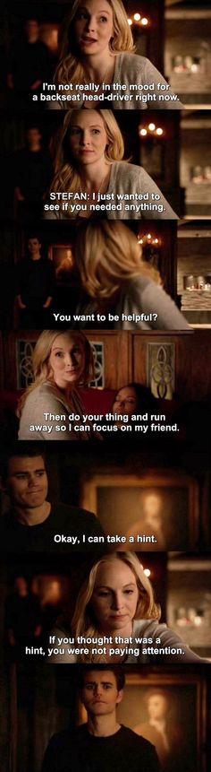 The Vampire Diaries TVD 7X21 - Stefan & Caroline