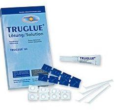 Truglue 02 Steriler Wundkleber, Etyl2 Cynoacrylat, kostengünstig, 2 Tuben/40 Pipetten, PZN 06682733 Operation, Personal Care, Wound Care, Wound Healing, Doctor Office, Medicine, Personal Hygiene