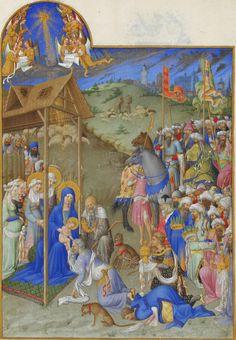 Les Très Riches Heures du duc de Berry  Annonciation, 1416