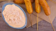 This 3-ingredient dip combines sour cream, hot sauce and blue cheese into the perfect spread for your game day dishes.