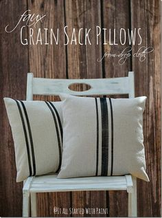 Grain sack, Sacks and Grains