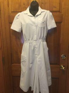 Size 8 White Dresses for Women Nursing Pins, Nursing Dress, White Nurse Dress, Pinning Ceremony, White Dresses For Women, Medical Scrubs, Graduation, Medicine, Costumes
