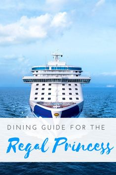 My guide to dining on board the Regal Princess! All the restaurants and food choices on board, with lots of pictures to help you plan your cruise | #food #travel #cruise #luxurycruise #cruiselife #regalprincess #princesscruises