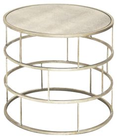 Ladder Side Table, Silver   Spring Steals   One Kings Lane