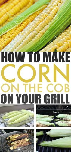 Grilled corn on the cob is something our family looks forward to every summer. There really is no better way to make it! If you're never tried it before, here's how to grill corn on the cob! #GrillCornOnTheCob #GrillRecipes