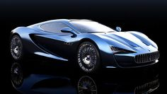 Maserati Bora Concept - Rendering