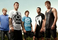 Parkway Drive. Australian metalcore band. Don't forget, their music is too heavy to listen.
