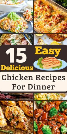 Chicken Marinade Recipes, Easy Chicken Recipes, Turkey Recipes, Dinner Dishes, Dinner Recipes, Dinner Ideas, Main Dishes, Fast Healthy Meals, Easy Meals