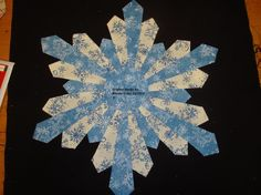Welcome to Craftsy! Learn it. Make it. - via @Craftsy Stunning Snowflake Quilt Block