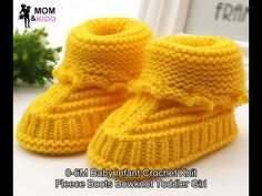 Toddler Newborn Baby Knitting Lace Crochet Shoes Buckle Handcraft Shoes Feature: brand new and high quality Sole material:Woolen Material of shoes:Woolen Soft material makes baby feel very comfortable Prefect for Autumn daily use and easy to take off Baby Booties Knitting Pattern, Knitted Booties, Knitted Slippers, Lace Knitting, Baby Knitting Patterns, Knitted Hats, Baby Boy Booties, Baby Girl Shoes, Baby Boots