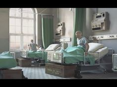 "CGI 3D Animated Shorts HD: ""The Window"" - by ESMA.....Check out this heart-stirring story (with English Subtitles), about 4 wounded soldiers recovering In a hospital room, and only one of them can see out a near a window as he describes to the others what is happening outside!"