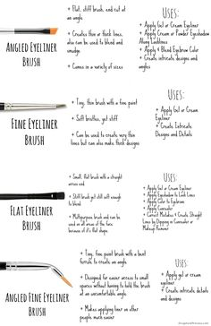 16 Eyeliner Hacks, Tips, and Tricks For Makeup Tutorials Gurl makeup hacks 16 - Makeup Hacks How To Color Eyebrows, How To Apply Eyeliner, Eyeliner Styles, Eyeliner Hacks, Neon Eyeshadow, Eyeshadow Brushes, Makeup Brushes, Makeup Tips, Makeup Hacks
