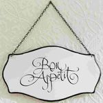 Bon Appetite Enamel Sign