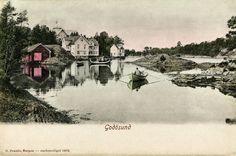 Lokalhistorisk biletsamling i Tysnes: Postkort frå Godøysund