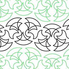 Samurai - Digital quilting pattern