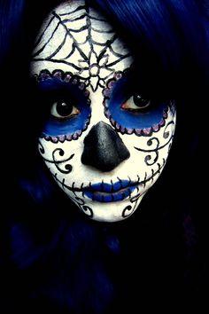 Sugar Skull v2 Makeup by jessibaxx.deviantart.com on @deviantART