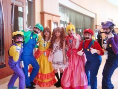 Awesome Super Mario Characters!