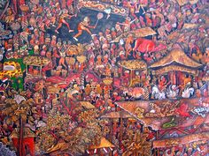 Balinese Art - Neka Museum - Ubud, Bali. #travel #jcrew