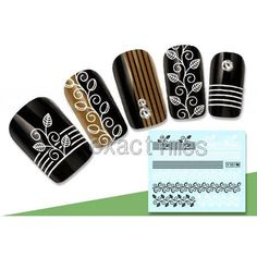 Exquisite-Arabesque-Lattice-Stripe-Pattern-Nail-Art-Water-Decals-Transfer-Sticke