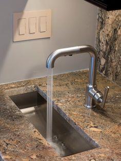 """Bar sink long rectangular 23 x 8.5"""" x 6""""d"""