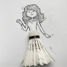 Happily dancing girl . #illustration #art #cartoon #characterdesign #character #sketchbook #artoftheday #doodle #instadoodle #doodling #dhaka #drawing #maniknratan #instaart #idea #girl #beautiful #dancing #weekend
