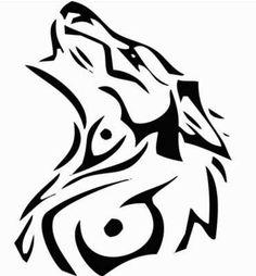 aztec wolf tattoo