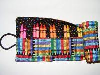 Crayon (knitting needle/paint brush/etc.) holder tutorial