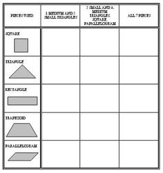 More Tangrams Activities/worksheets