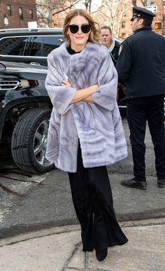 Olivia Palermo y la fiebre por el fur