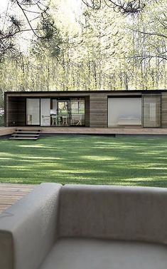 5 | These Gorgeous Sustainable Pre-Fab Houses Fit In A Shipping Container | Co.Exist | ideas + impact: