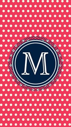 M Wallpaper, Wallpaper For Your Phone, Cellphone Wallpaper, Pattern Wallpaper, Monogram Letters, Letters And Numbers, Logo Inspiration, Iphone Letters, Fb Covers