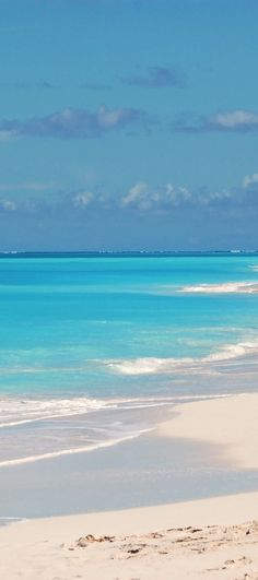 Turks and Caicos - Have always wanted to go here...the beaches look gorgeous.