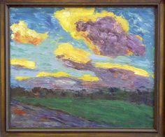 Emil Nolde - Herbstwolken 1b (1910) - Bonn, Kunstmuseum by petrus.agricola, via Flickr
