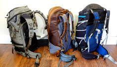 Panel loader backpacks