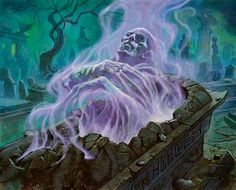 "glitterandghouls: "" By Alex Horley "" Gothic Horror, Arte Horror, Dark Fantasy Art, Dark Art, Cool Illusions, 70s Sci Fi Art, Horror Artwork, Arte Obscura, Spiritus"