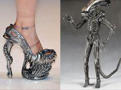 Xenomorph high heels