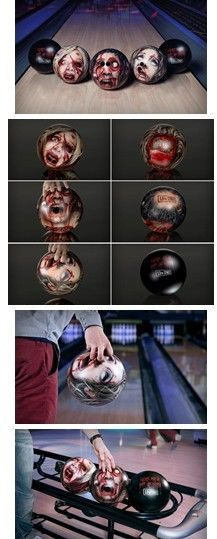 Bloody bowling xs possibly that's a new version of darts at a pic lol Creative Words, Creative Design, Funny Pictures, Funny Pics, Hilarious, Weird Tattoos, Dark And Twisted, Vinyl Toys, Nerd Geek