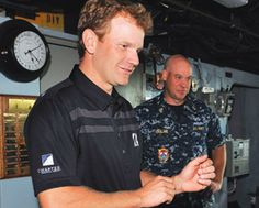 Billy Hurley III, Professional Golfers' Association of America (PGA) member, relives his days on the bridge of the USS Chung-Hoon (DDG-93) d...
