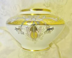 Special Sale!!! Art Nouveau Limoges / Pickard / Stouffer decorated Vase from Yesteryears Accents on Ruby Lane.