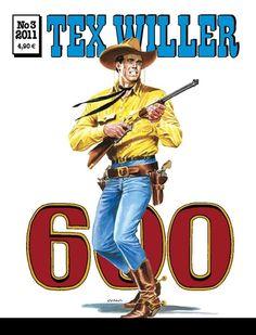 Tex Willer 600, nro 3/2011. #sarjakuva #sarjis #egmont #sarjakuvalehti