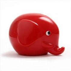Norsu spaarpot olifant rood   PSikhouvanjou