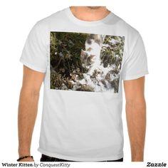 Winter Kitten T-shirts