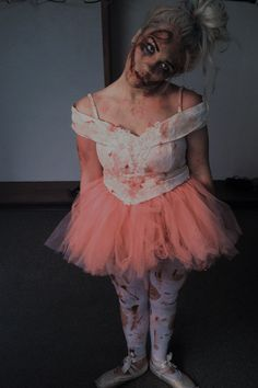 zombie ballerina halloween - Dead Ballerina Halloween Costume
