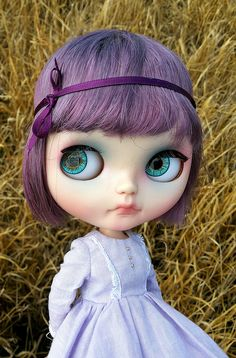 AKK Girl: Love this hair color! Violet