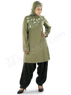 https://flic.kr/p/zD6kvZ | Elegant Embroidered Green Party Wear Lamiah Tunic | MyBatua.com | Style No : KRF-117 Price : $30.50 Available Sizes XS to 7XL